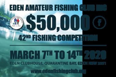 Eden Amateur Fishing Competition